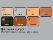 Цветове на корпуса на Кухненски модули Ларди - Мебели Ларди